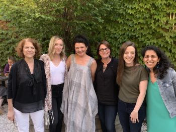 Photo credit: Ben, Kelly's boyfriend Left to Right: Robin Messing, Kelly Shetron, Heather Sellers, Kate Small, Danielle Kraese, Nina Sharma