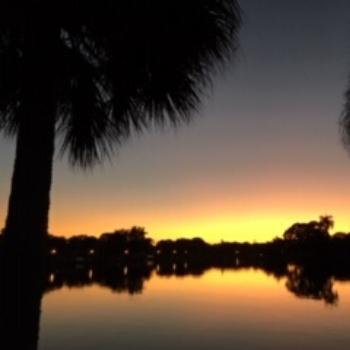 Sunset Over Coffee Pot Bayou
