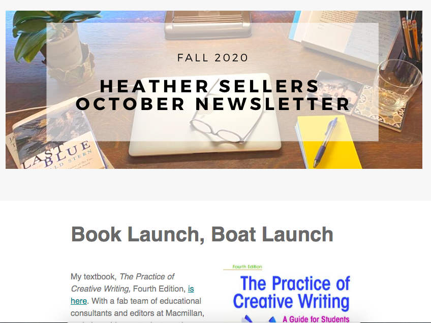 Heather's October Newsletter